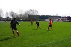Ria Westdorpe en S.V. Oostburg spelen met 1-1 gelijk