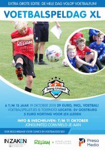 Jong United voetbaldag @ Velterspark Oostburg