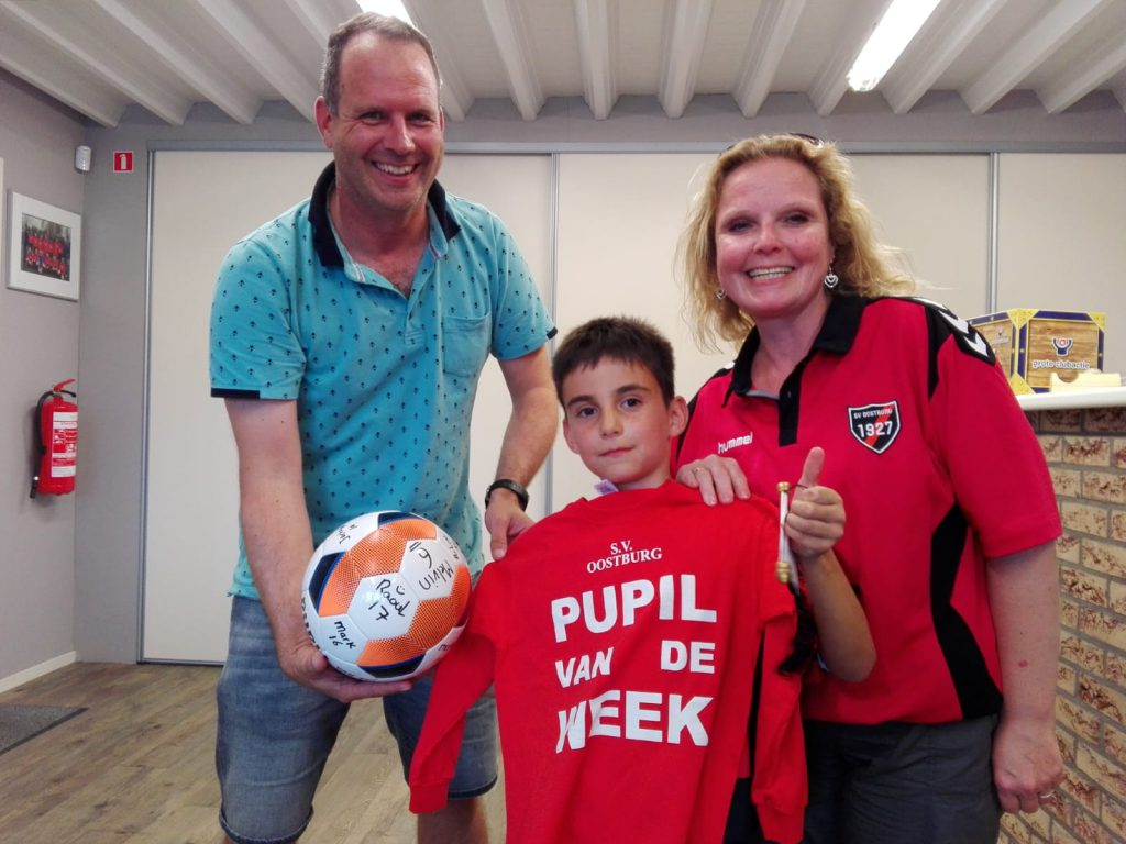 Pupil van de week - Ger-Tom-Adinda