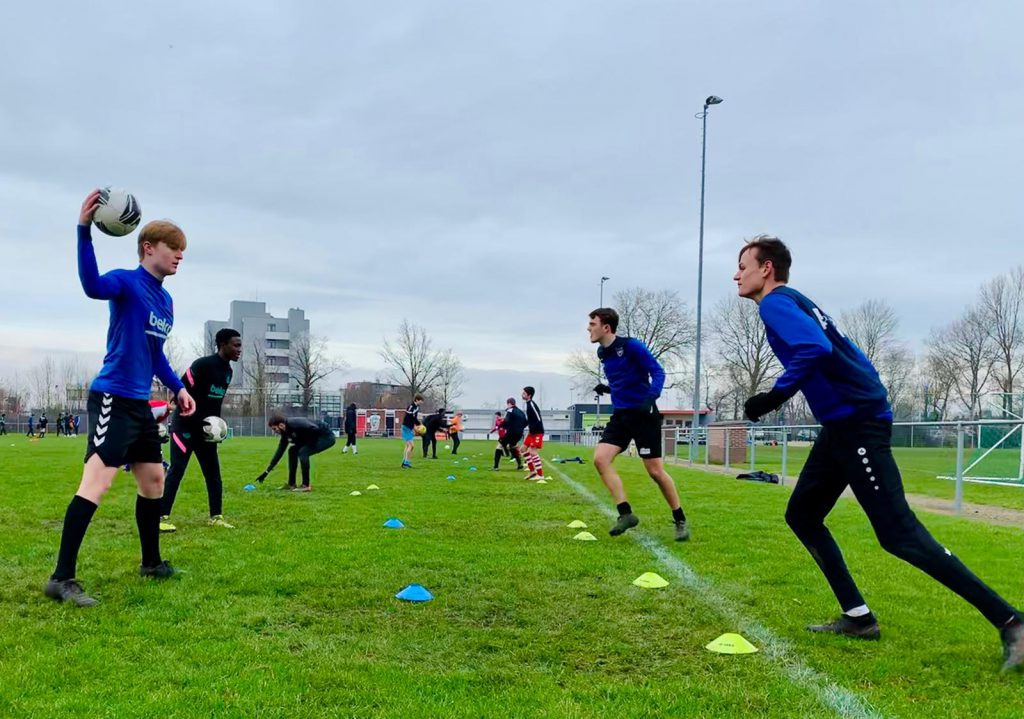 Clinic Eerste elftal S.V. Oostburg