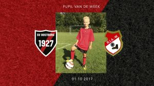 pupil van de week: justin