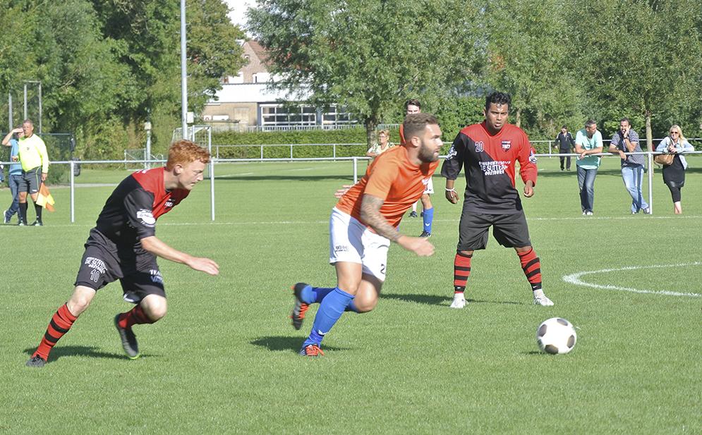 SV Oostburg 1 verliest nipt van GPC Vlissingen
