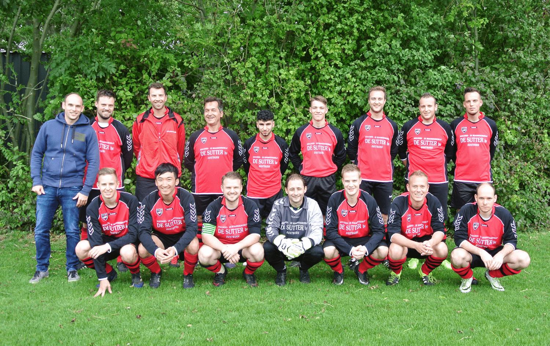 S.V. Oostburg 2 team 2017-2018